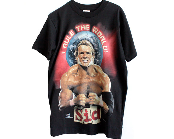 WWF SID I RULE THE WORLD T-SHIRT MED