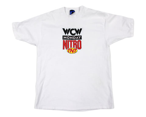 WCW MONDAY NITRO OFF-WHITE SHIRT LG