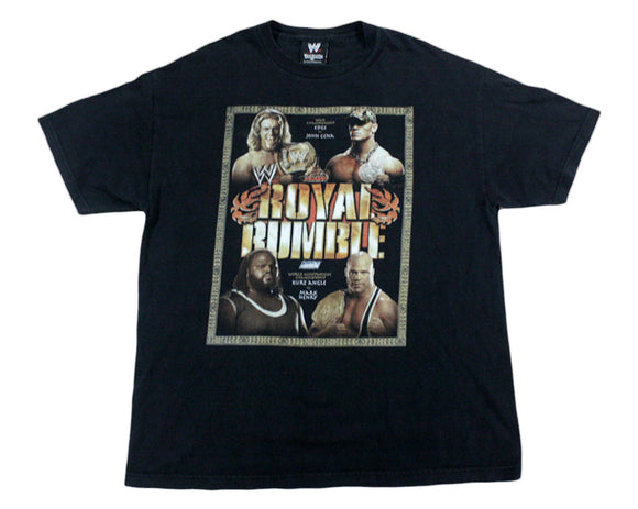 WWE ROYAL RUMBLE 2006 T-SHIRT XL
