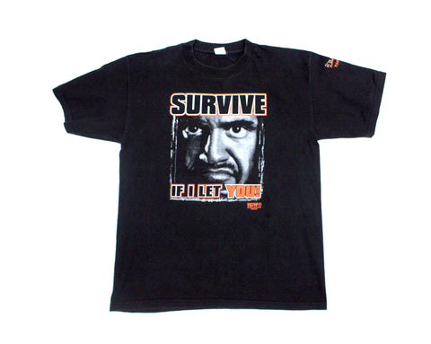 ECW TAZ SURVIVE T-SHIRT XL