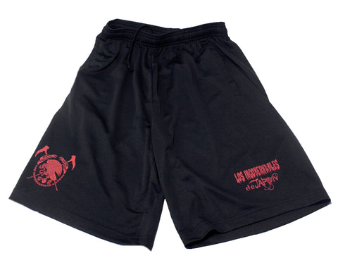 NJPW LIJ SHORTS MEDIUM (BLACK/RED)