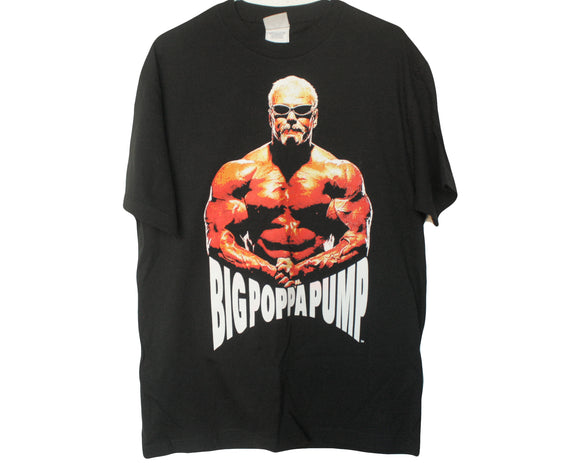 WWE BIG POPPA PUMP T-SHIRT LG