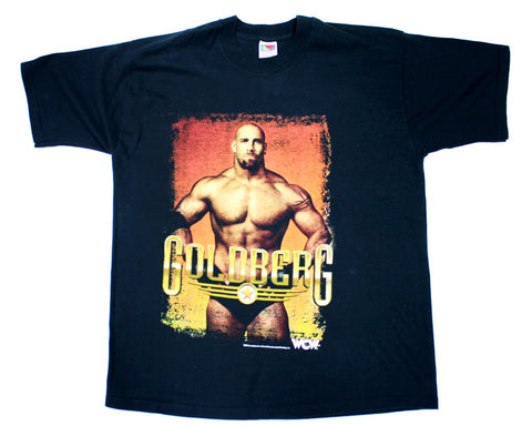 WCW GOLDBERG POSE VINTAGE T-SHIRT XL