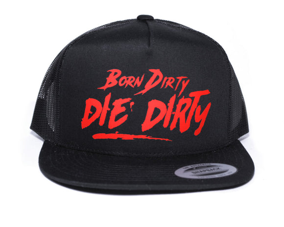 CHRIS DICKINSON BORN DIRTY DIE DIRTY SNAPBACK HAT