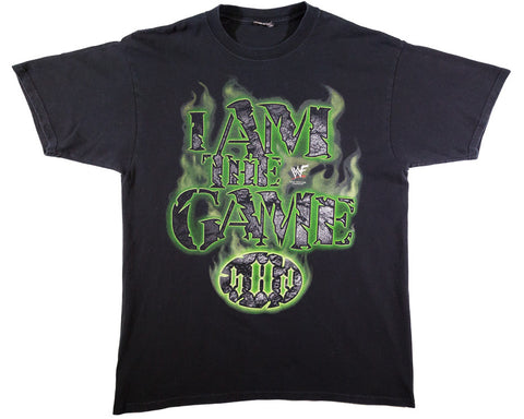 TRIPLE H 'I AM THE GAME' VINTAGE T-SHIRT XL