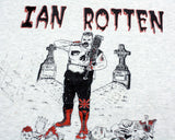 IAN ROTTEN WHO'S THE MAN T-SHIRT MEDIUM