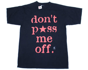 "WWF Jeff Jarrett ""Don't Piss Me Off"" Vintage T-Shirt at Stashpages"