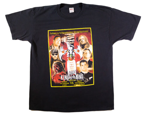 WWF KING OF THE RING 2000 VINTAGE T-SHIRT