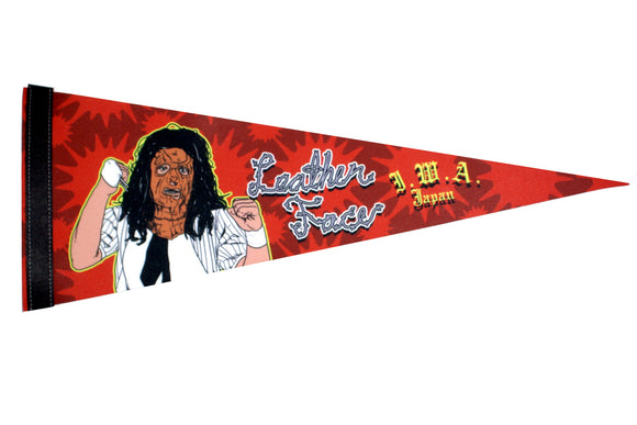 LEATHER FACE PENNANT