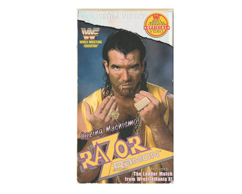 WWF RAZOR RAMON OOZING MACHISMO VHS TAPE