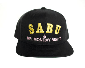 SABU & MR MONDAY NIGHT EMBROIDERED HAT