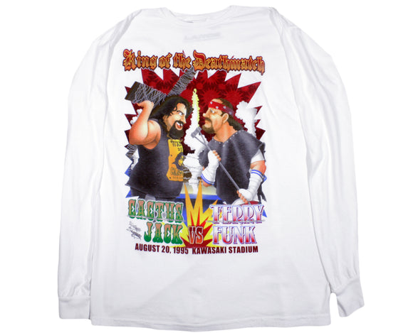 NAGATOSHI SAKAI KING OF THE DEATHMATCH LONGSLEEVE