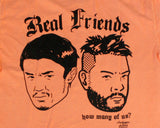 REAL FRIENDS 001 T-SHIRT [SALMON] - MEDIUM