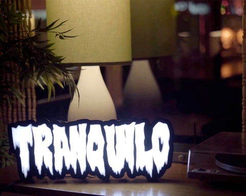 TRANQUILO ACRYLIC SIGN (SMALL)