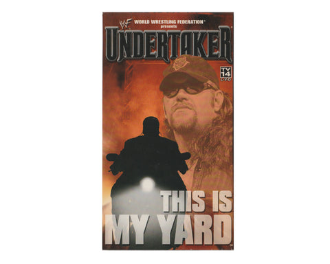 WWF UNDERTAKER 'THIS IS MY YARD' VHS TAPE