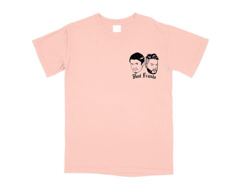 REAL FRIENDS 001 T-SHIRT - TERRA COTTA