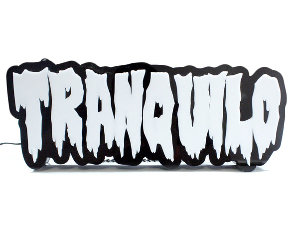 [DAMAGE & SCRATCH] TRANQUILO ACRYLIC SIGN (LARGE) #007