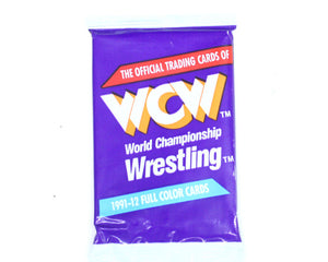 WCW 1992 Trading Cards at Stashpages