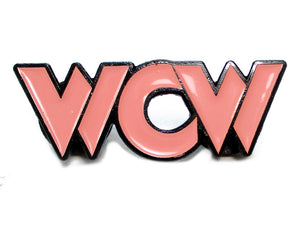 "WCW LOGO PIN ""SURFER STING"""