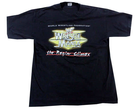 WWF WRESTLEMANIA 15 RAGIN CLIMAX T-SHIRT XL