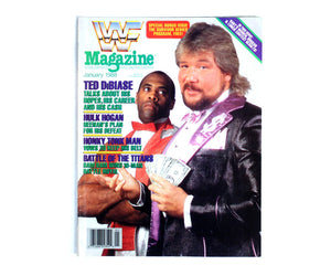 WWF Magazine January 1988 from Stashpages