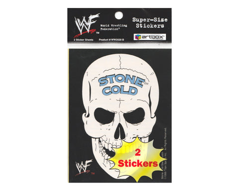WWF SUPER-SIZE STICKERS 2-PACK