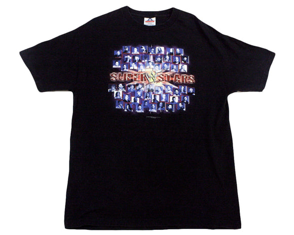 WWF SUPERSTARS T-SHIRT LG