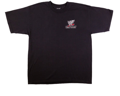 WWF NEW YORK VINTAGE EMBROIDERED T-SHIRT