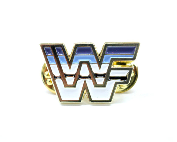 WWF Golden Era Logo Enamel Pin by stashpages