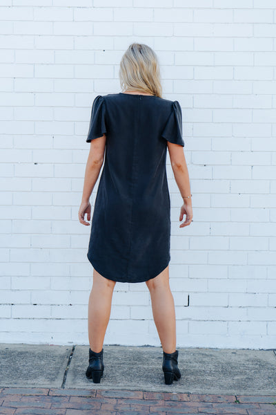 Rocker luxe silk dress