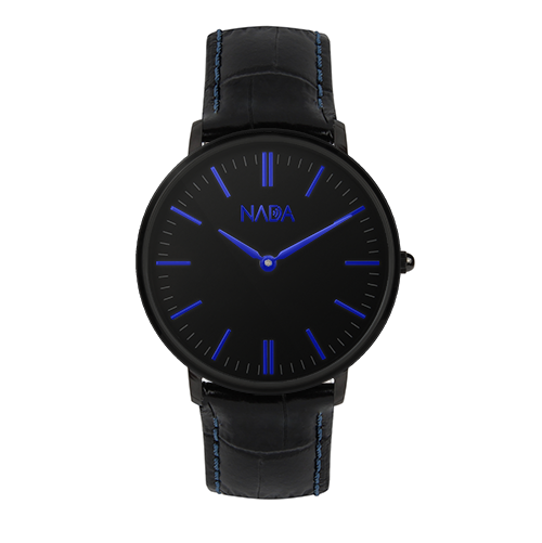 Prestige Blue Black Shiny | 40MM