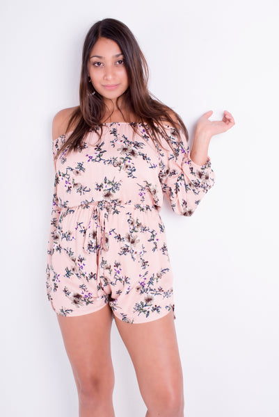 Ariana Floral Playsuit