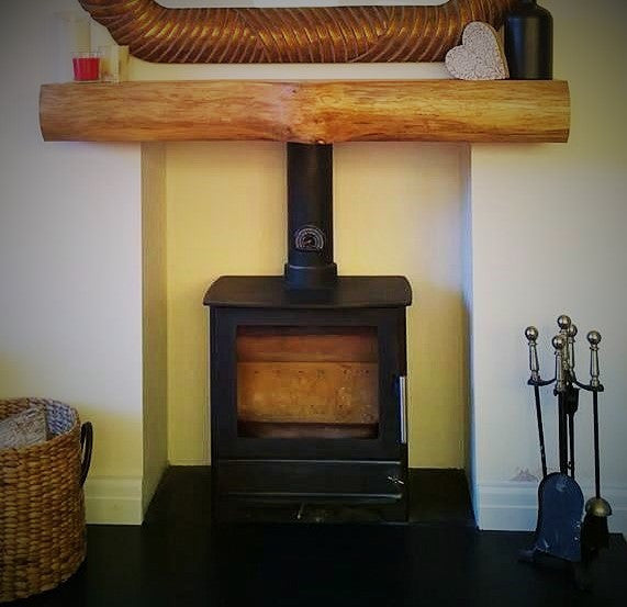 Oak Mantel (Waney Edge)