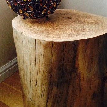 Natural Oak Pedestal