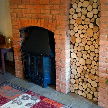 Decorative Round Hardwood Mix Logs