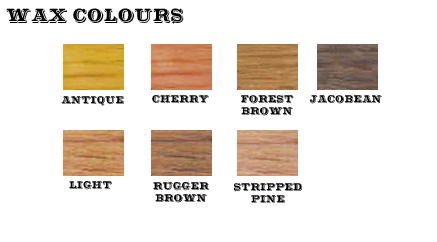 Colour Waxed Logs