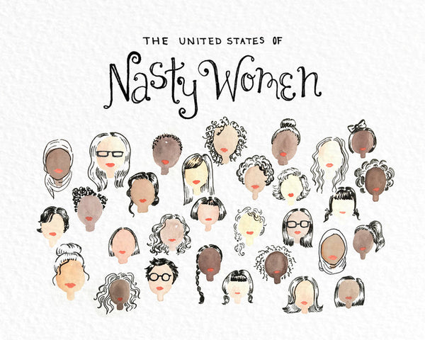 United States of Nasty Women Print