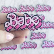 Baby Drippy Letters Patch
