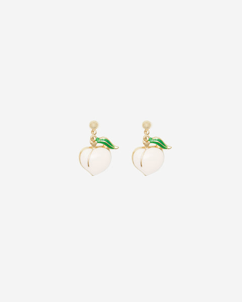 Peach Stud Earrings