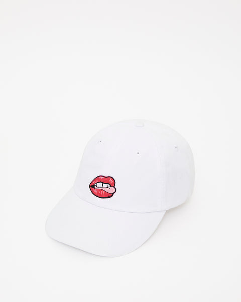 Lips + Tongue Baseball Cap