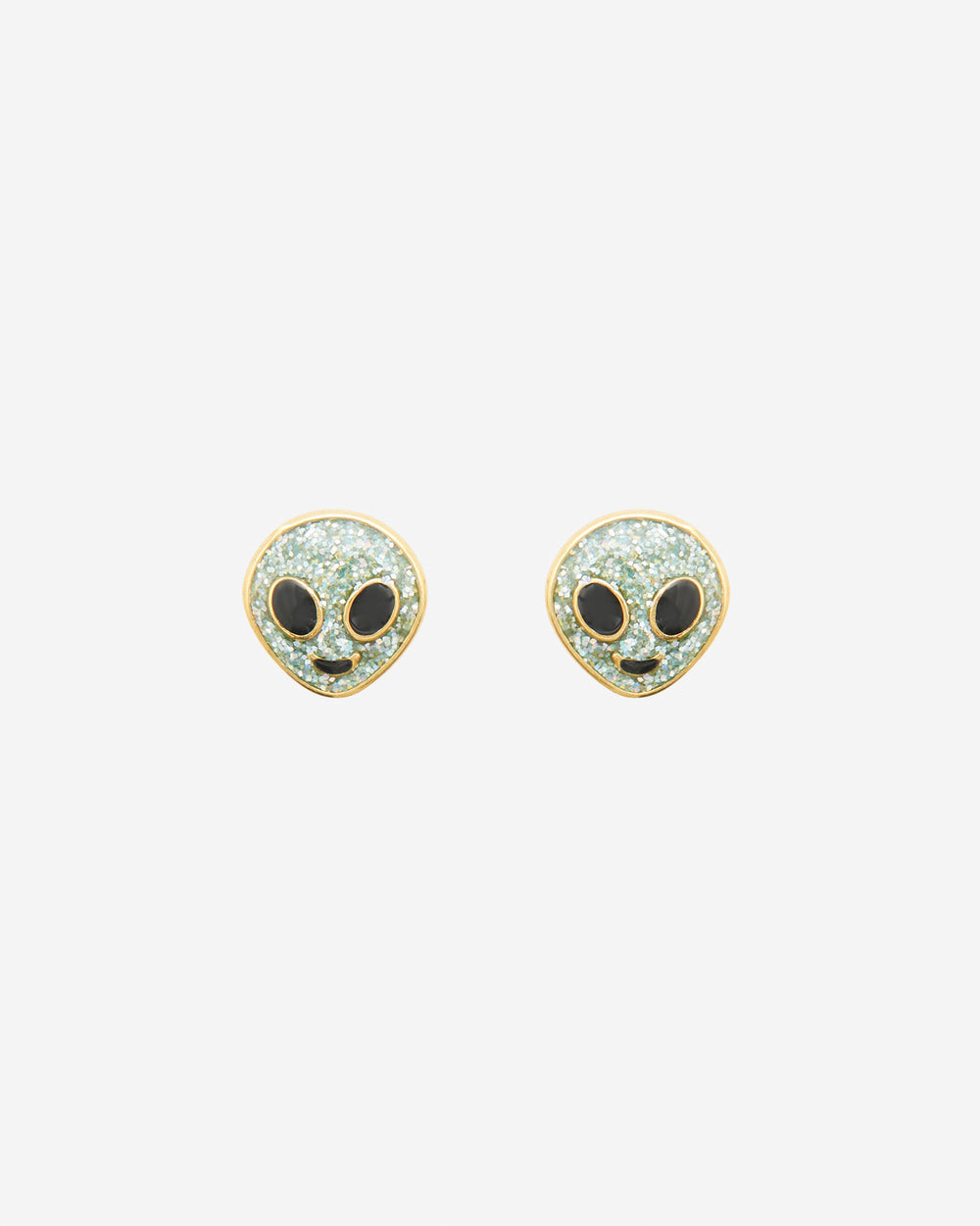 Alien Stud Earrings