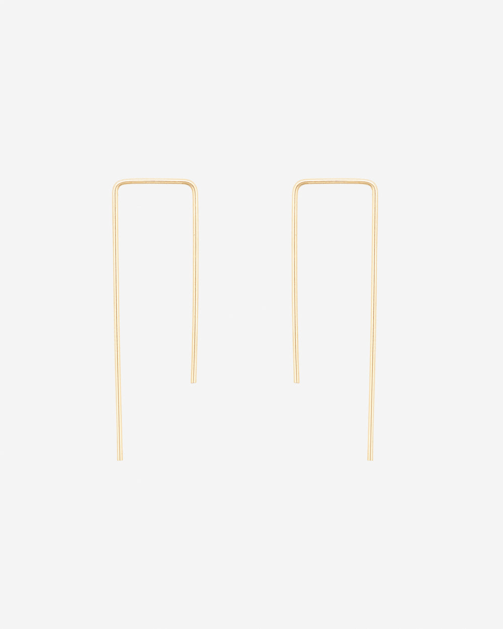 Square Threader Earrings