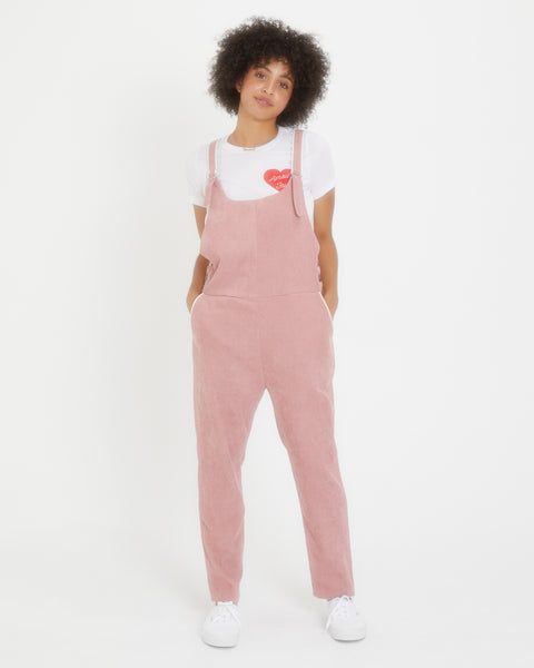 Pink Picture Day Overalls