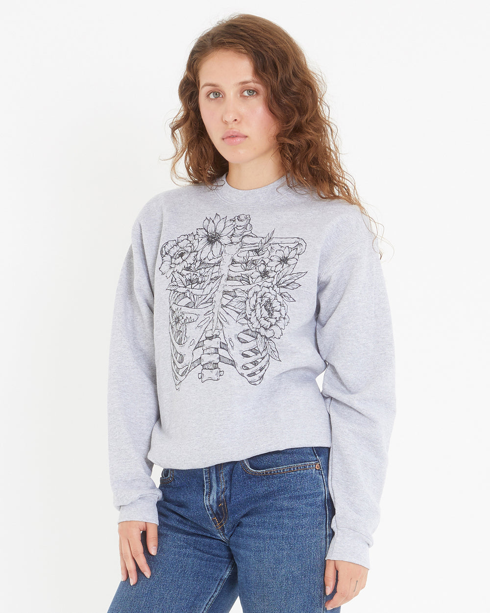 Skeleton Garden Sweatshirt