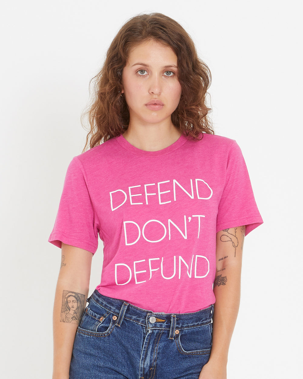 Defend Don't Defund Tee