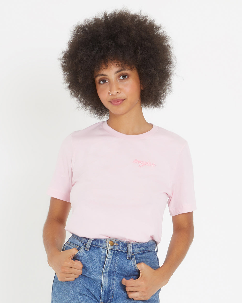 Mujer Embroidered Tee