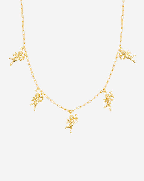 Gold Cupid BB Choker