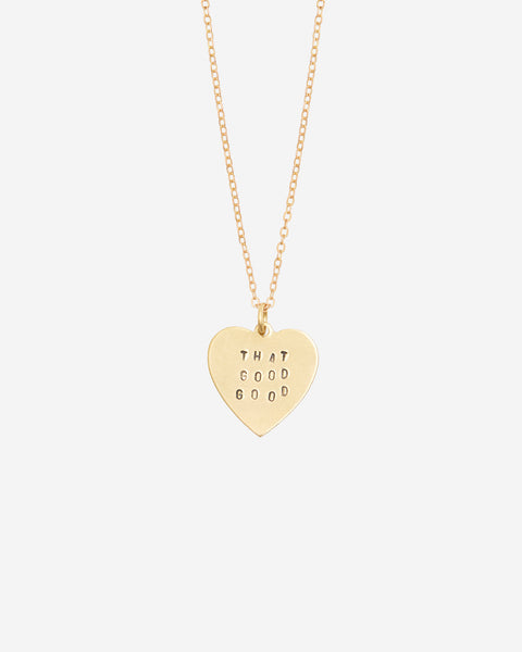 That Good Good Hand-Stamped Necklace