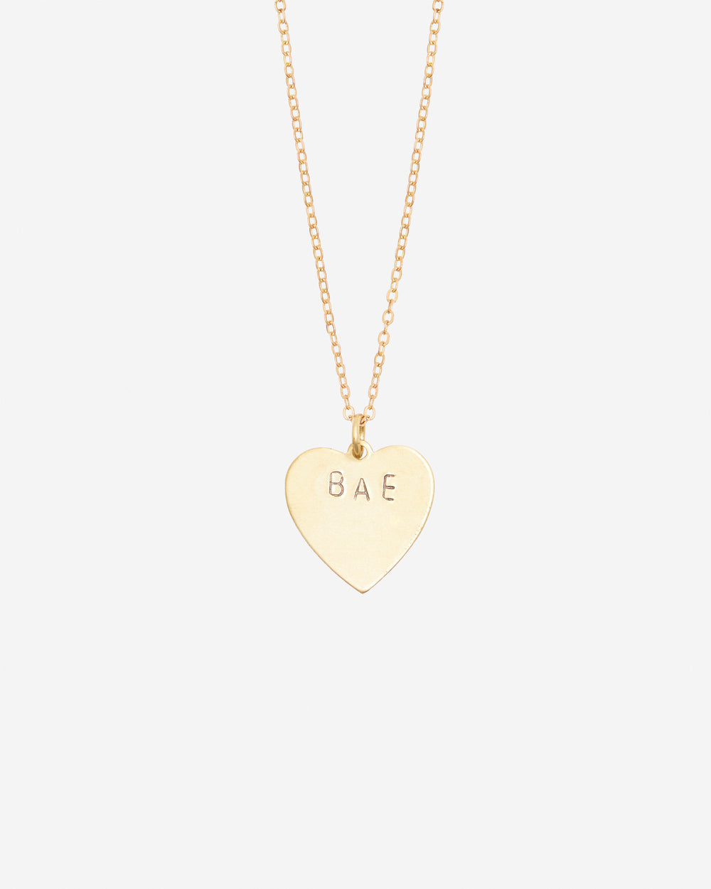 Bae Hand-Stamped Necklace