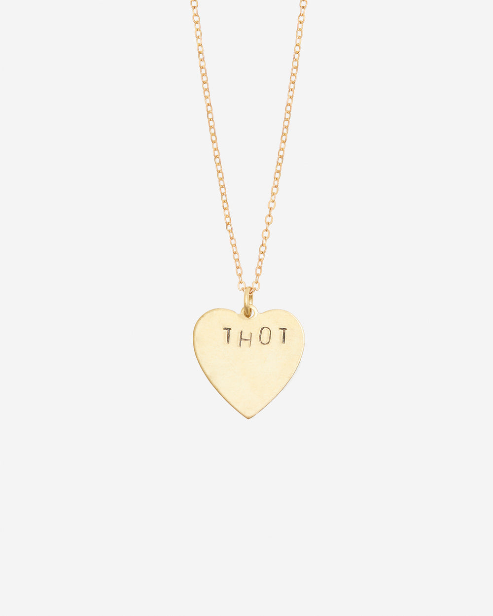 Thot Hand-Stamped Necklace